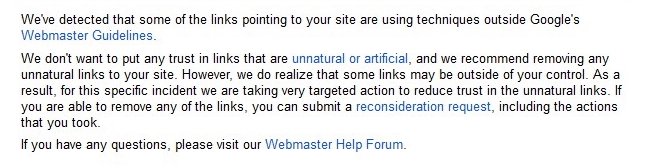 unnatural links