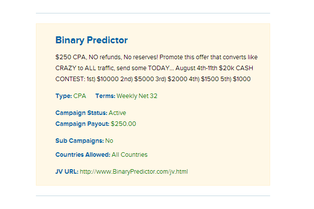 binary-predictor