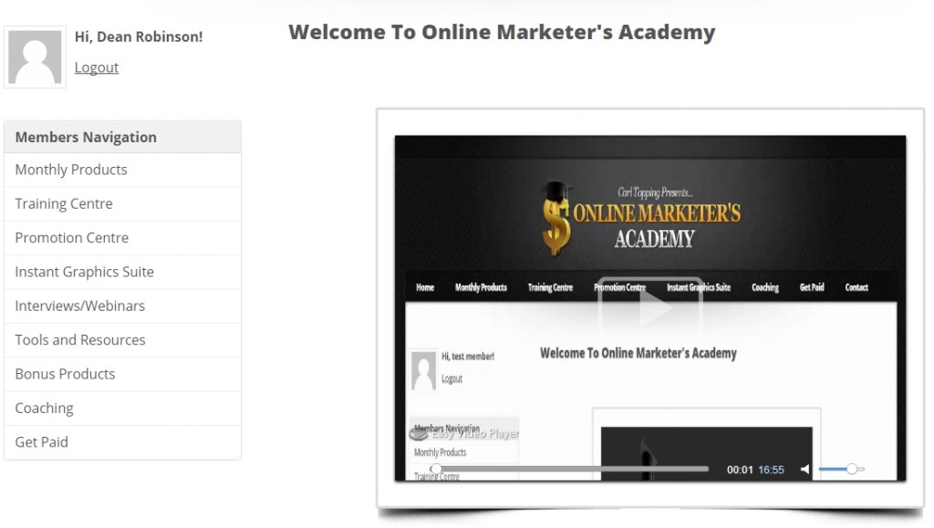 Online Marketers Academy