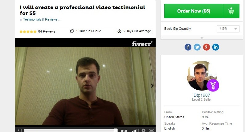 fiverr douchebag
