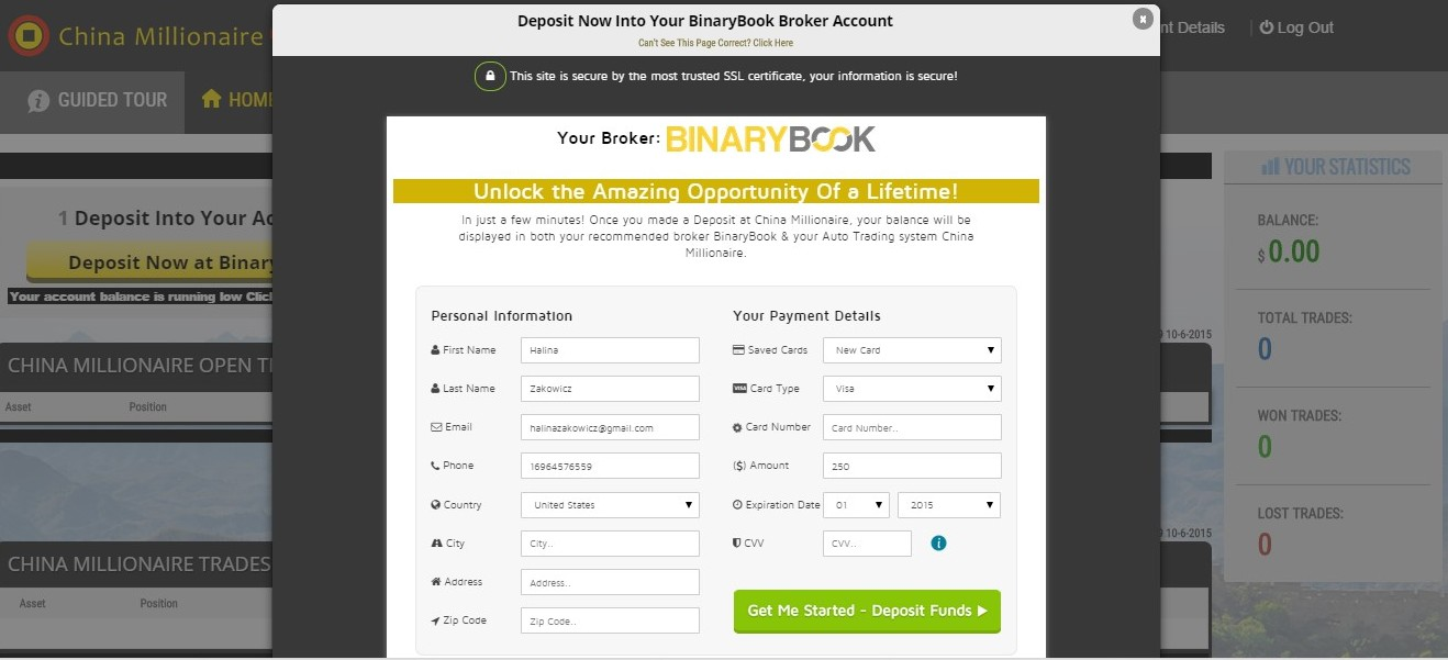 My binary option account us brokers