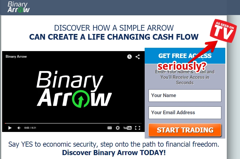 binary arrow