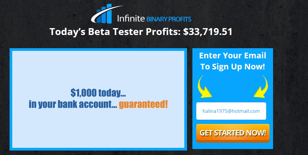 Infinite prosperity binary options