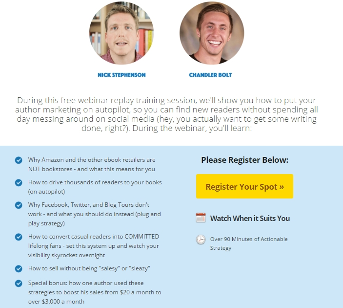 Webinar Replay Register (Chandler)