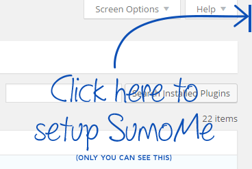SumoMe Easy to setup and use