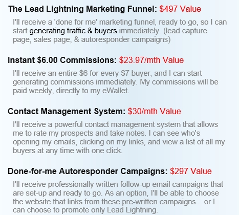 Lead Lightning ‎products
