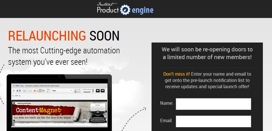 Instant Product Engine