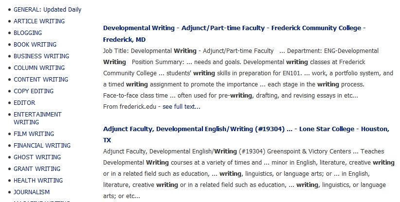 online paid writing jobs for students