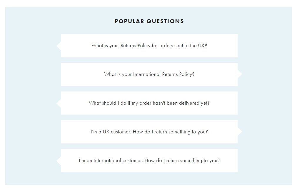 FAQ This - asos popular questions