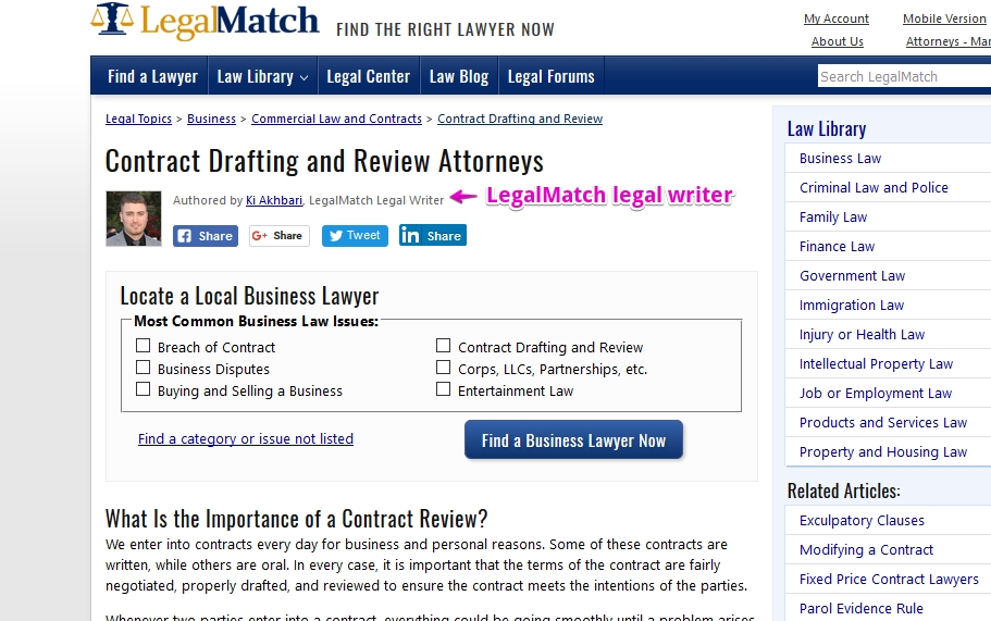 LegalMatch Jobs