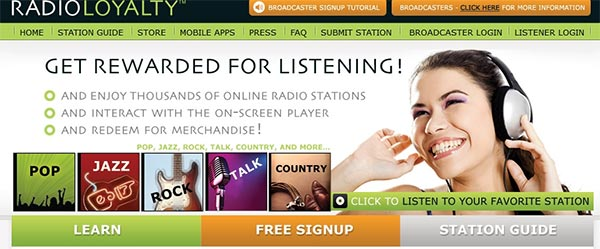 RadioLoyalty Site