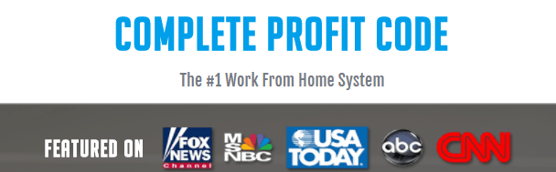 Complete Profit Code featured on