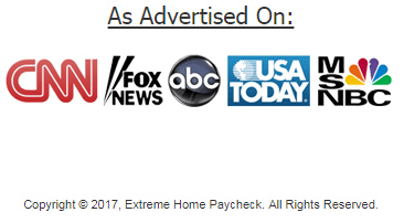Extreme Home Paycheck advertised on
