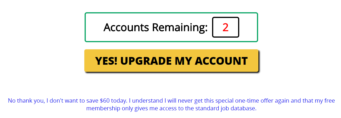 My Home Job Search upgrade