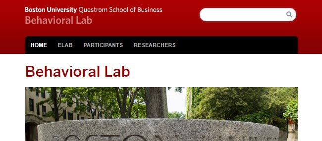 Boston university research studies