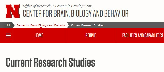 Nebraska Research Studies