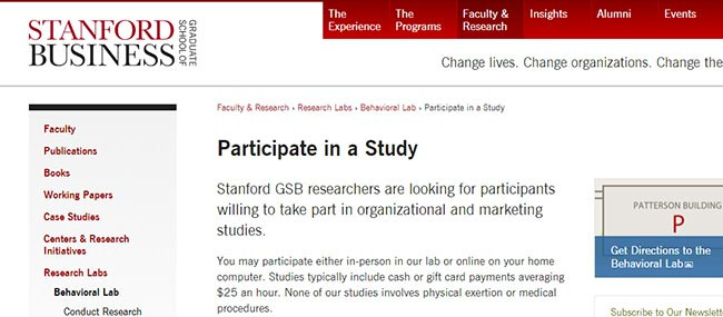 Stanford research studies