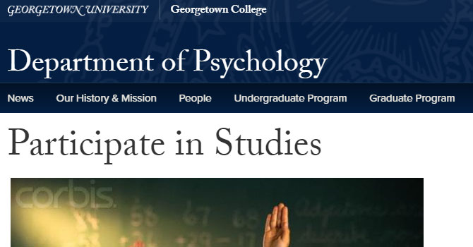 Georgetown Research Studies