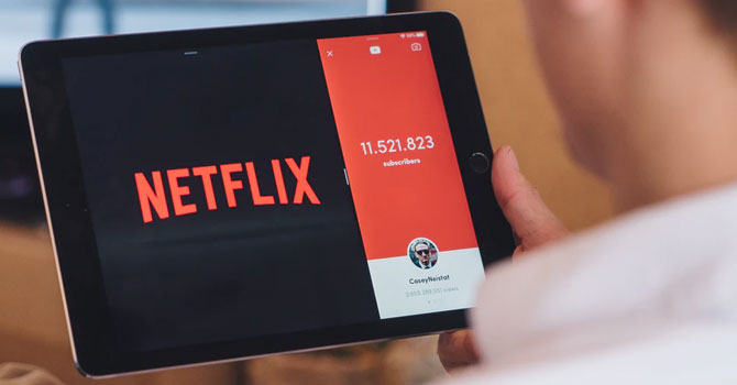 Get paid to watch movies with Netflix