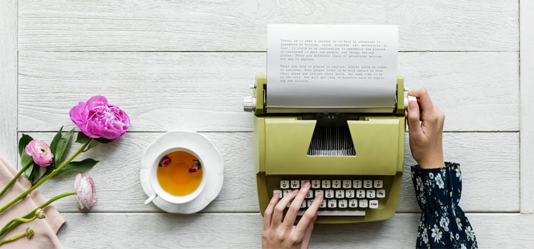 5 Ways to Find a Book Typing Job from Home