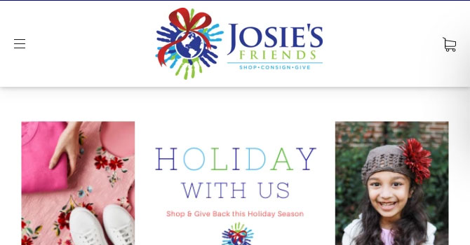 Josies Friends Home page